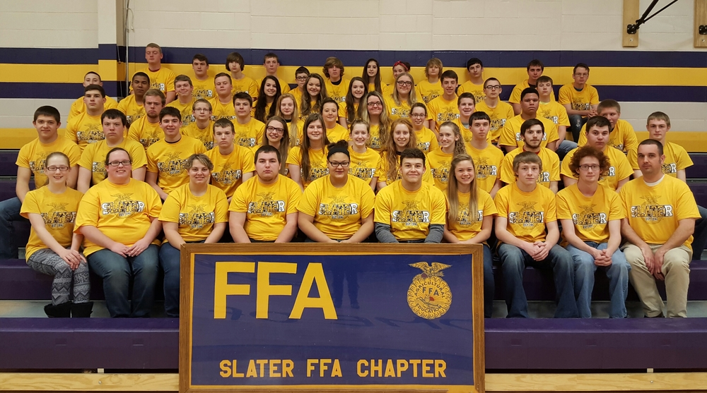 Slater FFA Students Perform Well at Marshall Contest Day