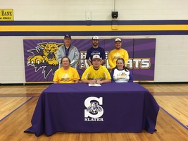 Foster Signs Letter of Intent to Play Baseball at Missouri Valley College