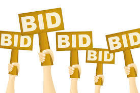 Several Items Available through Bid Process
